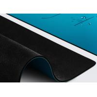 Buy cheap Indoor Sports PU Natural Rubber Yoga Mat Non Slippery Wet Absorbance from wholesalers