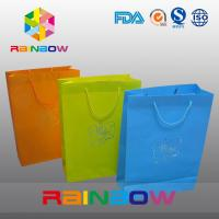 Buy cheap Promotion Cutom Color Printing Customized Paper Bags / Gift Bag grease proof paper bag from wholesalers