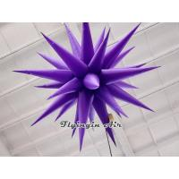 Buy cheap Customized Inflatable Haning Light with Different Colors for Event from wholesalers