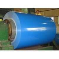 Buy cheap DX51D PPGI EN10169 Painted Steel Coil , Brown White Coil Coated Galvanized Steel from wholesalers