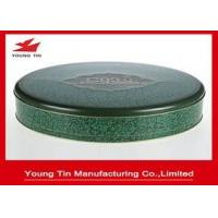 Buy cheap Large 0.28 MM Food Grade Tinplate Round Cookie Packaging Container Tins With Lid from wholesalers