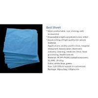 Buy cheap Bed sheet, China supplier in good quality with many colors, disposable single use,eco-friendly from wholesalers