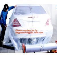 Quality Plastic drop sheet/cloth(fastmask masking film),Disposable car cover,5 in 1 auto clean kits(Disposable seat cover, steer for sale