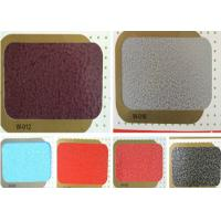 Buy cheap Antique Hammer Epoxy Polyester Powder Coating 120 - 140mm Liquidity from wholesalers