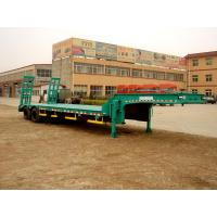 Buy cheap CLWChuanteng 11 m 13 t 2 axis low flatbed semi-trailer HBS9191TDP0086-1867273032 from wholesalers