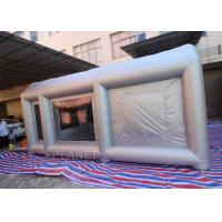 Buy cheap 6m Long  Inflatable Spray Paint Tent With PVC Tarpaulin Or Oxford Cloth Material from wholesalers