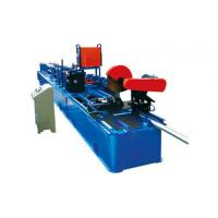 Buy cheap Drain Rain Round Downspout Roll Forming Machine 0.4 - 0.7mm Thickness With Elbow product