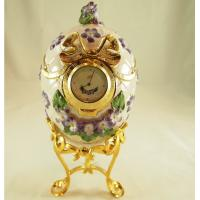 Buy cheap Faberge Egg with Clock from wholesalers