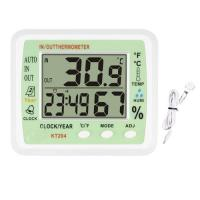 Quality Indoor & Outdoor Digital Thermomete with Hygro KT-204 with Pointing Function on Each Hour for sale