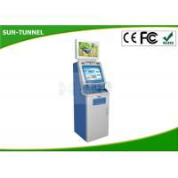 Buy cheap Coin Payment Self Service Ticket Machine , Hd Automatic Payment Terminal from wholesalers