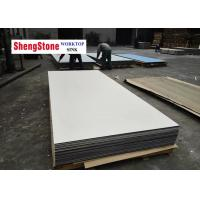 Buy cheap White Color Phenolic Slab Corrosion Resistant For Chemical Plant Worktop product