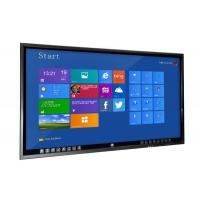 Buy cheap University Teaching Flat Touch Screen Monitor , 70 Inch Learning Monitor Mit Touchscreen from wholesalers