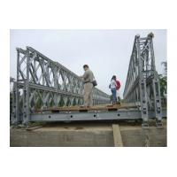 Buy cheap Customized Timber Deck Stability Steel Bailey Bridge / Portable Steel Bridge CB100 , CB200 from wholesalers