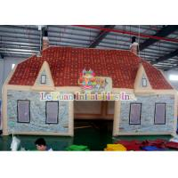 Buy cheap Portable Digitally printing Inflatable House Tent for bar / Party / Pub from wholesalers