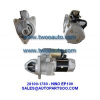 Buy cheap NEW HINO EP100 STARTER MOTOR 24V 28100-1780 28100-1770 0350-602-003 28100-1520 03122-8030 from wholesalers