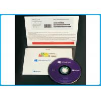 Buy cheap Microsoft Windows 10 Pro Professional 64 Bit spanish DVD geniune Spanish package win10 pro oem pack  / Made in USA from wholesalers