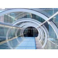 Buy cheap Green House Tempered / Laminated Safety Glass , Curved  Sheet Glass Panels from wholesalers