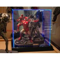 Buy cheap Transparent Acrylic Display Holders Box With Led For Torys product