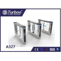 China Office Security Swing Electronic Turnstile Gates Mechanical Anti - Pinch Function on sale