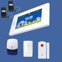Buy cheap wireless GSM full touch color screen alarm in MHZ433 or MHZ868 from wholesalers