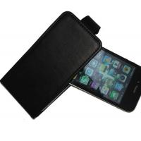 Buy cheap OEM Durable Leather Mobile Phone Pouches , Black Hard Case For Iphone from wholesalers