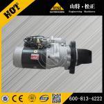 Buy cheap Starting Motor 600-813-4222 komatsu loader WA470-1 from wholesalers