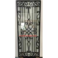 Buy cheap cheap price wrought iron glass of 10*10 MM black steel bar from wholesalers