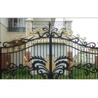 Buy cheap Garden wrought iron gate and fence,luxury wrought iron gate,decorative wrought iron gates from wholesalers