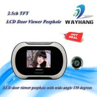 Buy cheap 2.5ch TFT LCD door viewer peephole with wide angle 150 degrees from wholesalers