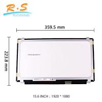 Buy cheap AUO 15.6Inch B156HAK03.0 TFT FHD IPS laptop screen for dell slim 40pin panel modules from wholesalers