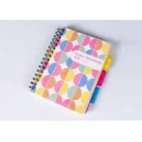 Buy cheap Colorful Plastic Hard Cover Notebook / Notepad Custom Logo For Business Gift from wholesalers