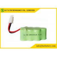 Buy cheap Customized Color Nickel Metal Hydride Battery NIMH Battery Pack 8.4V 1000mah from wholesalers