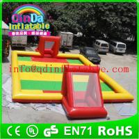 Buy cheap Inflatable football field inflatable football pitch soccer football field for footballs from wholesalers