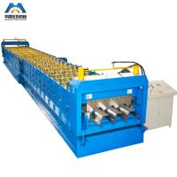 Buy cheap 0.8 - 2mm Galvanized Steel Sheet Floor Deck Roll Forming Machine 380V 50Hz 3 Phase from wholesalers
