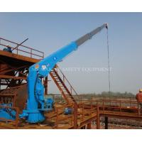 Buy cheap Telescopic Boom Hydraulic Marine Crane 5t 8t from wholesalers