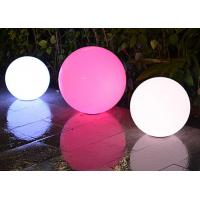 Buy cheap Illuminated Decorative Outdoor LED Ball Remote Controller DC Charging Mode from wholesalers