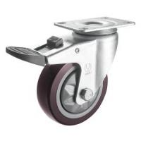 Buy cheap Medium Duty PVC Caster (Red) (Y3601) from wholesalers