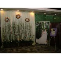 Buy cheap Buy Pipe Drape wholesale fireplace backdrop wallcovering outdoor wedding pipe drape decoration ideas from wholesalers