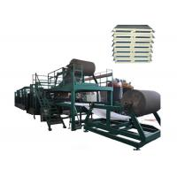 Buy cheap 3 Phase 1200mm Automatic Continuous Sandwich Panel Line With High - Efficiency product