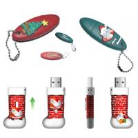 Buy cheap Promotional Christmas USB Flash Drive from wholesalers