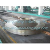 Buy cheap OEM 250 Ton Hot Heavy Steel Forgings , Forged Disc For Shipbuilding JB/T 5000.15-1998 product