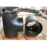 Buy cheap TOBO STEEL Group  carbon A234 WPB and stainless 316L composite tee Elbow fittings from wholesalers