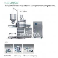 Buy cheap HLSG-200/600 Intelligent Automatic High Effective Mixing and Granulating Machine from wholesalers