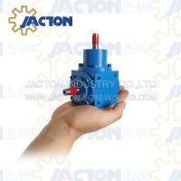 Buy cheap JTV65 Small Spiral Bevel Gears Right Angle Gearbox 12MM Shaft Transmission Ratio 1:1, 2:1 from wholesalers