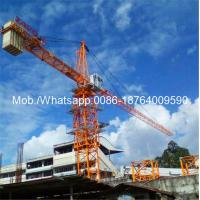 Buy cheap Easy Transfer Heavy Construction Machinery , 6 Ton 0 - 80m Span Hydraulic Self - Raising Tower Crane Loader from wholesalers
