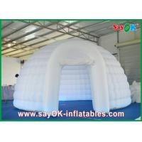Buy cheap Dome Inflatable Air Tent Strong Fire-proof Cloth With Led Lights from wholesalers