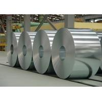 Buy cheap ASTM A653M Galvanized Steel Coil 508mm - 610mm Width For Building / Construction from wholesalers