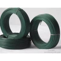 Buy cheap Binding / Construction PVC Coated Galvanized Wire Annealed Green Wire from wholesalers