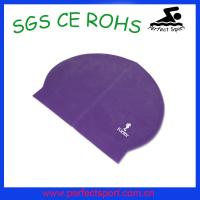 Buy cheap 2015 Fashion New Blue Silicone Rubber Latex Swimming Pool Beach Cap from wholesalers