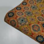 Buy cheap Portugal Eco Friendly wallet bag shoe real natural wood printed cork fabric from wholesalers